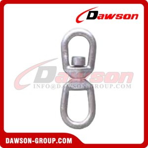 DS355 Forged Regular Swivel, Eye & Eye Swivels