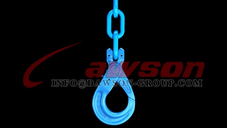 Application of G100 European Type Clevis Self-Locking Hook - Dawson Group Ltd. - China Supplier, Factory