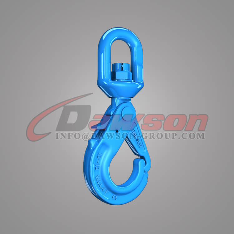 Dawson Grade 100 Special Swivel Self-locking Hook with Grip Latch - China Supplier