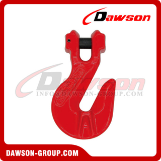 DS064 G80 Clevis Shortening Grab Hook with Wings for Adjust Chain Length