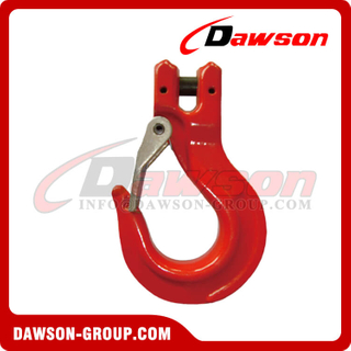 DS329 G80 Clevis Slip Hook with Latch for G80 EN818-2 Chain