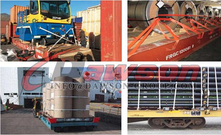 Application for For securing on flats, rails or in containers - Dawson Group Ltd. - China Supplier