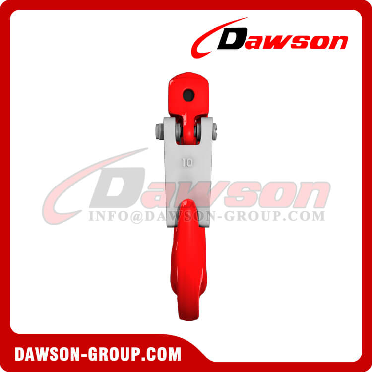 Grade 80 Clevis Sling Hook with Cast Latch for Chain Slings, G80 Clevis Hook - Dawson Group Ltd. - China Factory, Exporter