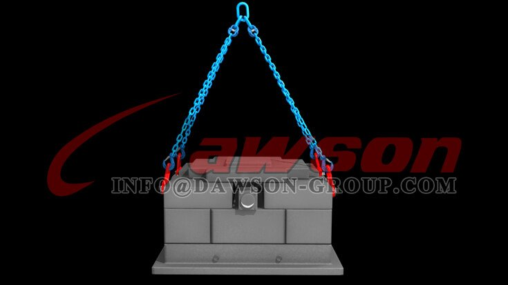 Application of G100 Forged Steel Clevis Sling Hook with Latch for Lifting Chains - Dawson Group Ltd. - China Supplier