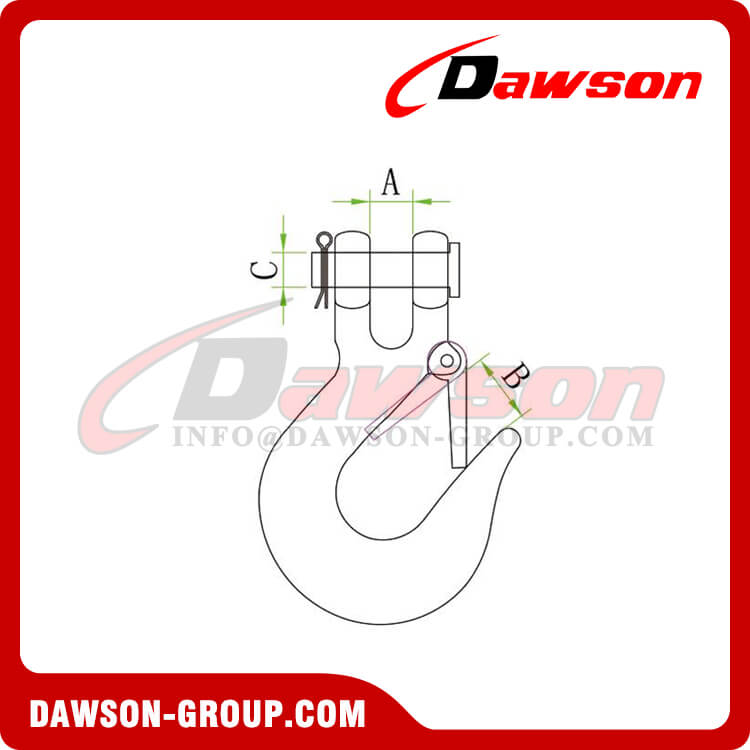 PAINTING OF Clevis slip hook with latch - Dawson Group Ltd. - China Manufacturer, Supplier, Factory, Exporter