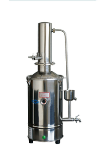 STAINLESS-STEEL ELECRIC �HEATING DOUBLE WATER DISTILLING APPARATUS