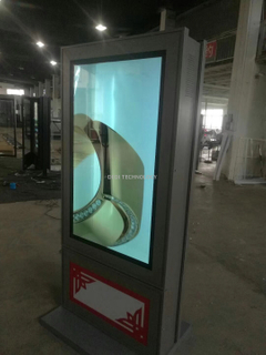 55inch Double Sides LCD Display for Outdoor