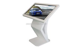 "Dedi 42"" Hotel Multimedia PC Interactive Free Stand Touch Screen Kiosk"