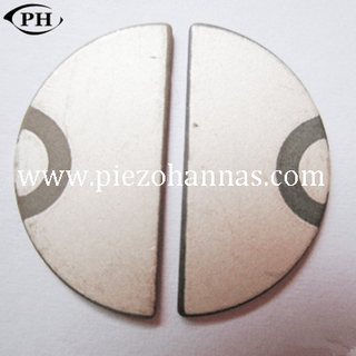 half moon piezo ceramic disc for ultrasonic transducer fetal doppler