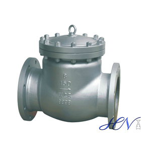 Carbon Steel Low Pressure Inline Flanged Swing Check Valve