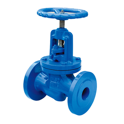 DIN Flanged Manual Marine Cast Iron Globe Valve