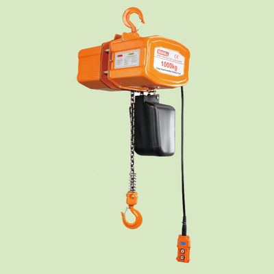 SUSPENDED TYPE SINGLE PHASE ELECTRIC CHAIN HOIST