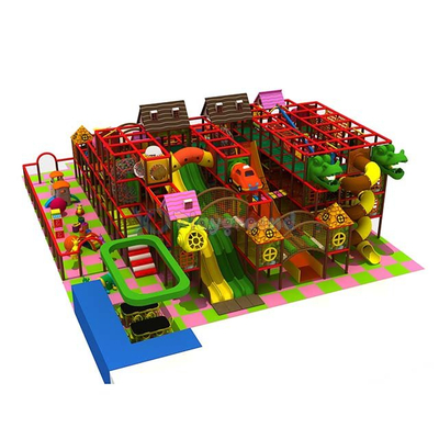 Customized 3 Levels Children Indoor Playground Equipment with Toddler Area