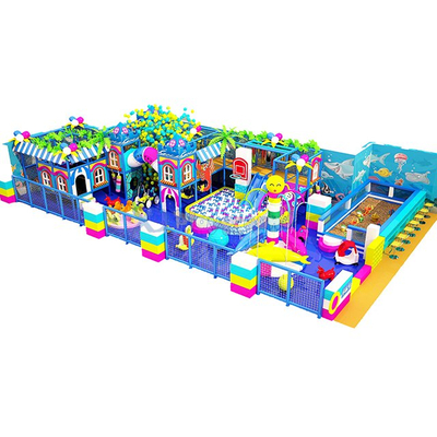 Amusement Park Ocean Theme Indoor Playground with Ball Pit