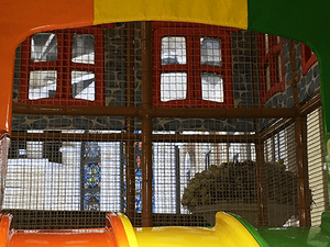 Entrance Panels of kids indoor playground
