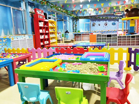 Manual area in Candy Theme Indoor Playground
