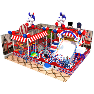 England Themed Small Children Amusement Park Indoor Playground with Ball Pit