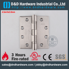 DDSS002-FR-4.5x4x3.0mm-Stainless Steel 316 Durable UL Fire Rated Ball Bearing Hinge for Steel Door