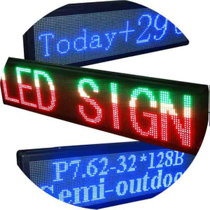 Programmable LED Scrolling Message Display Sign