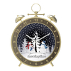 Snowing Led Alarm Clock-Shaped Ornament Christmas decoration 2018