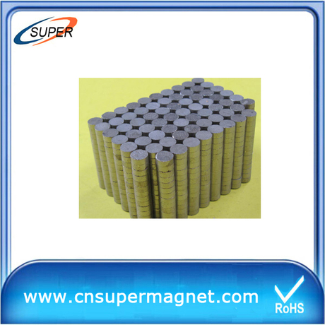 Promotional D15*5mm Disc magnets SmCo