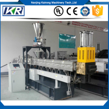 CaCO3/Tlac Filler Masterbatch Compounding Machine/PE+20%-80%Calcium Carbonate Filler Masterbatch Twin Screw Extruder