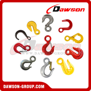 Drop Forging Steel Eye Type Hook for Lifting Chain Slings