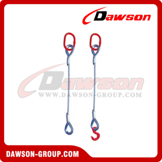 Single-Leg Swaged Sling Assembly