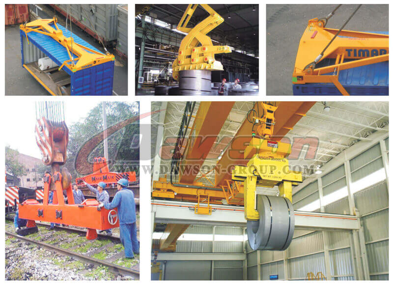 Application of Lifting Clamps -Dawson group