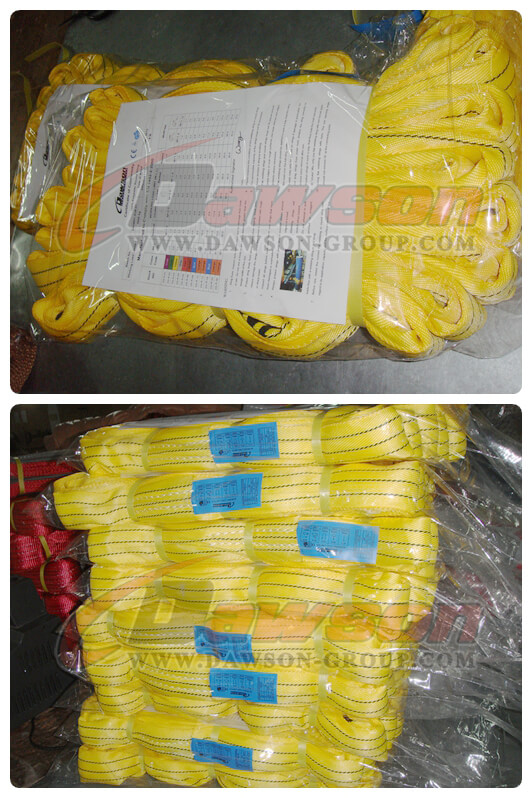 WLL 3T Polyester Round Slings - Dawson Group Ltd. - China Manufacturer, Supplier, Factory