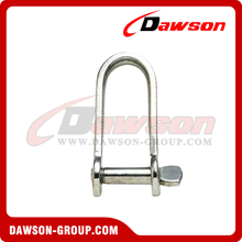 Stainless Steel Plate Dee Shackle