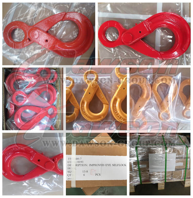 G80 Eye Selflock Hook - Dawson Group Ltd. - China Manufacturer, Supplier, Factory