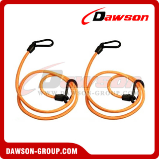 Rubber Tie Down, Elastic Cords With 2-PCS Hooks