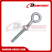 Stainless Steel Eye Screw with Nut