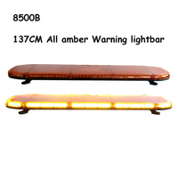 137CM All amber LED Warning light bar for ambulance