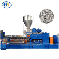 PP+Caco3 Filler Masterbatch Making Twin Screw Extruder