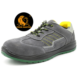 Anti Slip Oil Proof PU Sole Non Safety Sport Work Shoes