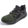 Super Light Weight Anti Slip Breathable Stylish Sport Safety Shoes Composite Toe