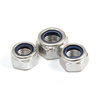 Manufacturing Machine DIN985 Stainless Steel 316 Hexagon Nylon Lock Nut