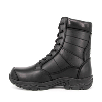 MILFORCE 6268 black breathable leather tactical boots