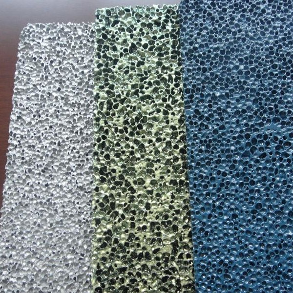 Customized Coated Aluminum Foam With Different Colour To Match PANTONE And RAL References