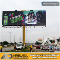 High Quality Outdoor Advertising Billboard Display 18m X 6m
