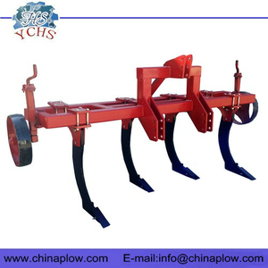 Chisel plough subsoiler for tractor
