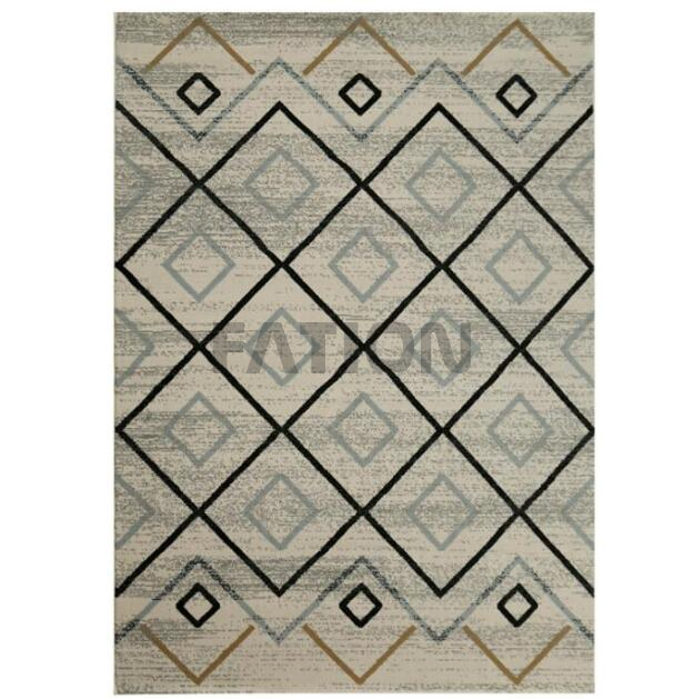 Anti-slip Home Decor Area Rug Polypropylene Carpet