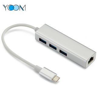 Type C USB 3.0 HUB With 3 Ports