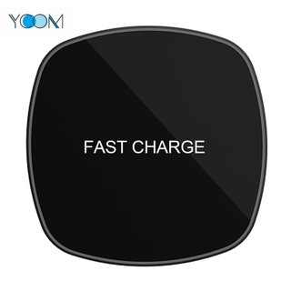 Fast Charging Wireless Charging with Glass Square Design
