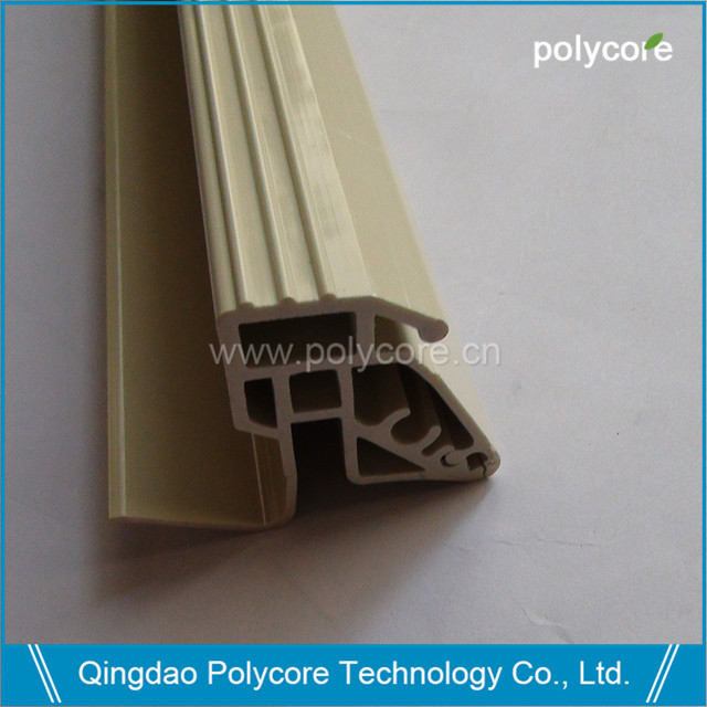 commercial refrigeration display showcase plastic extrusion assembly parts