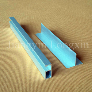 Sliver Anodizing Aluminum Profile for Decoration