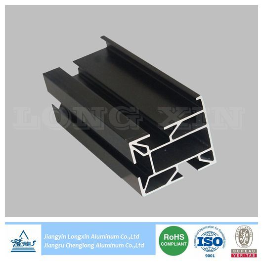 Black Anodized Aluminium Profile for Solar Panel