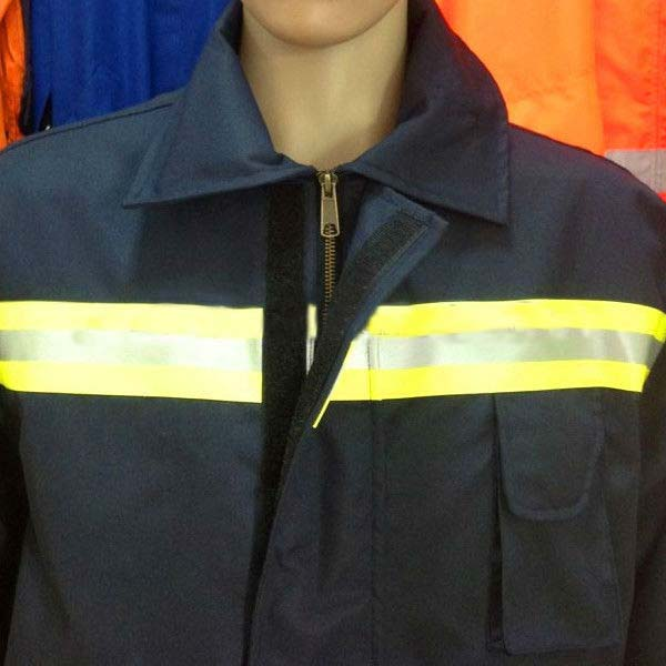 reflective firefighter coveralls, firefighter suit , safety clothing for firemen